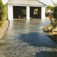 Residential Driveway - London Cobble Slate | Green | Charcoal